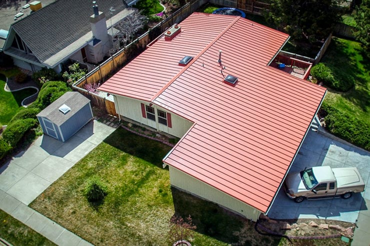 Cobb Residence Metal Roofing