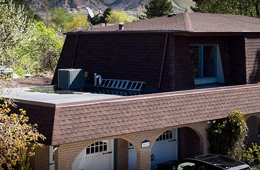 Asphalt Roofing Shingles on a Home in SLC
