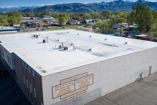 Certified Handling Systems Warehouse. Commercial Roofing ...