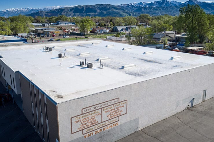 Certified Handling Systems Warehouse. Commercial Roofing, Membrane Roof, Salt  Lake City